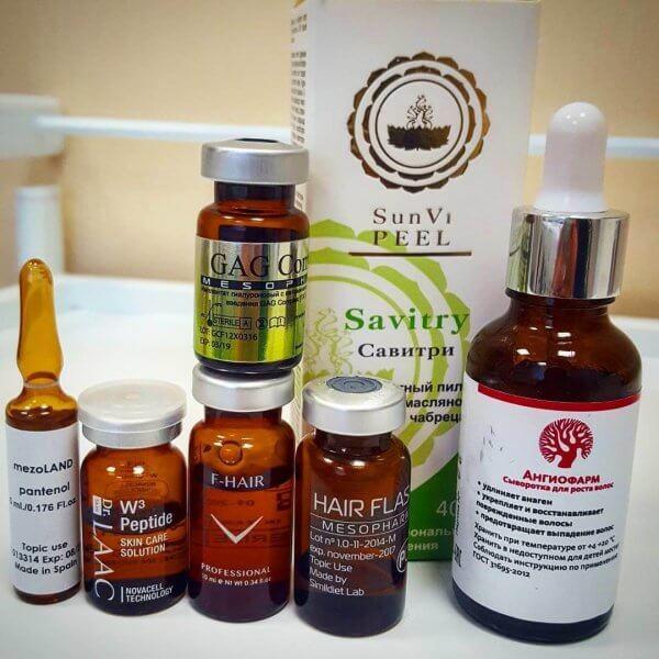 ТРИХОЛОГИЯ - лечение выпадения волос